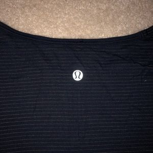Blue and Black/Navy lululemon T-shirt